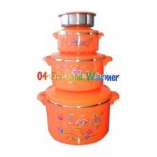 Advance Food Warmer Set - 04 pcs