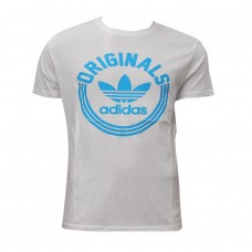 Adidas White T-shirt for Men