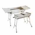 Stainless Steel Rollaway Barbecue Pit