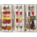 Adjustable Bag Rack - Holds 16 Handbags