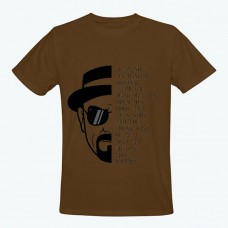 Breaking Bad Brown T-Shirt for men