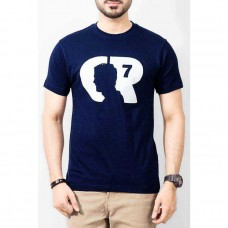 CR7 Blue T-Shirt for men