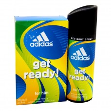 Adidas Get Ready Perfume & Spray Bundle Pack