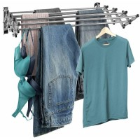 Wall Mounted Clothes Drying Rack (Large)