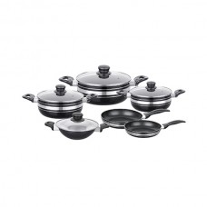 10 Pcs Jumbo Non-Stick Cookware Set