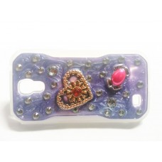 Fashion Rhinestone Back Cover for Samsung Galaxy S4