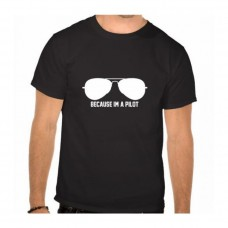 Pilot Black Men's T-shirt