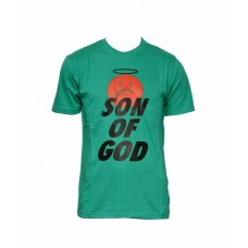 "Men's T-Shirt : ""Son of God"" - Green"