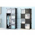 8 Door Portable & Foldable Storage Cabinet