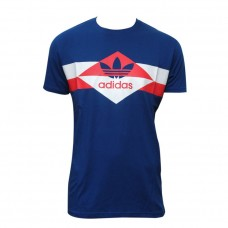Adidas Blue T-Shirt for Men