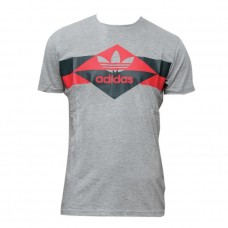 Adidas Grey T-Shirt for Men