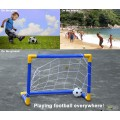Football Goal Post Set with Pump Kids