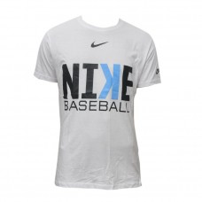 Nike Baseball White T-Shirt for Men