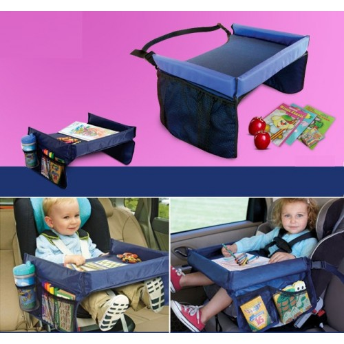 On The Go Waterproof Play n' Snack Tray