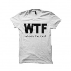 WTF White T-Shirt for men